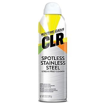 CLR Aerosol Spray Stainless Steel Cleaner