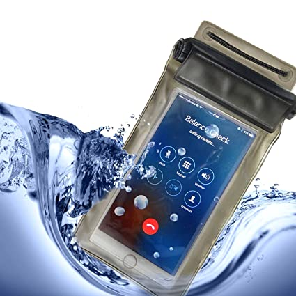 promo code 4d12a 026c0 Mobaccs Waterproof Mobile Cover Pouch for All Mobile Phones