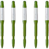 SUS tee Waterniveaumeter (set van 5), de gieter voor planten, helpt planten goed te gieten, eenvoudig te gebruiken, geen…