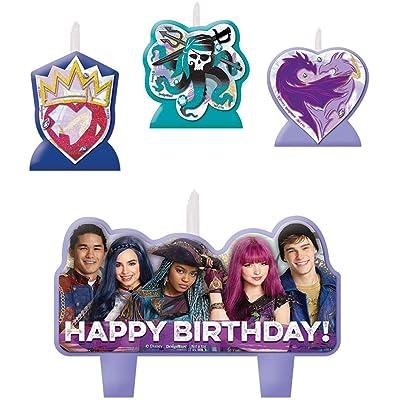 amscan Disney Descendants 2 Birthday Candle Set: Toys & Games