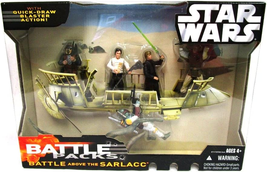 B000N5VVIC Star Wars Battle Pack: Battle Packs - Battle Above the Sarlacc 71mX2RQW2BrL