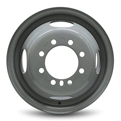 Used Ford F350 Dually Wheels >> Ford F350 4x4 Dually 16 8 Lug Steel Wheel 16x6 Steel Rim
