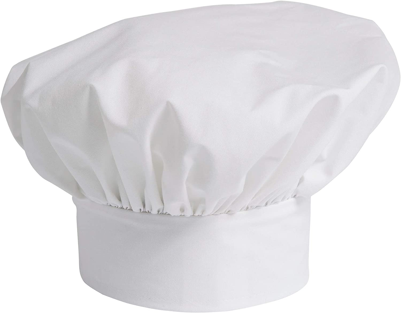 Uncommon Threads Unisex Poplin Chef Hat