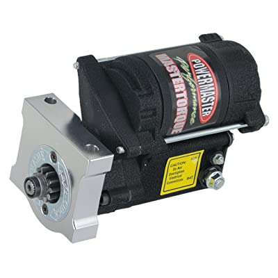 Powermaster 9609 Master Infi-Clock Starter Motor (Chevy, Pont, LSX Eng GMC LS Truck 4.8L,5.3L,6.0L,6.2L 168T Flyw Black Wrinkle): Automotive