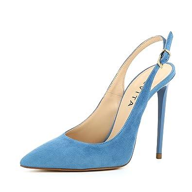 Evita Sling Shoes Et Escarpins Chaussures Daim Lisa Sacs qgrHqwxS