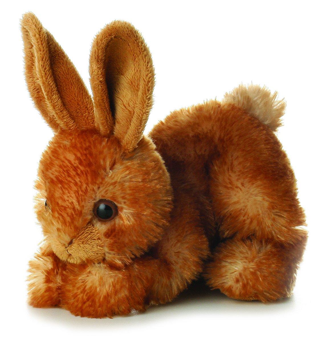 amazon com aurora bitty rabbit bunny mini flopsie 8