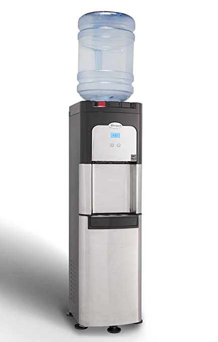 Charmant Whirlpool Commercial Water Cooler, Storage Cabinet, Digital Temperature  Display, Ice Chilled Water,