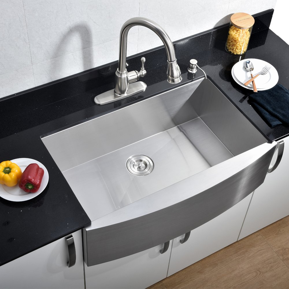 VCCUCINE Farmhouse Apron Kitchen Sink