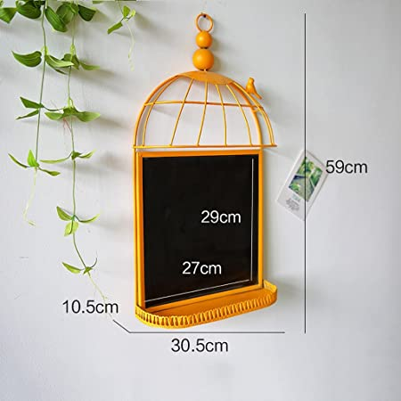 Memo Boards American Style Birdcage Wall Mount Billboard Storage Simple Birdcage Memo Board