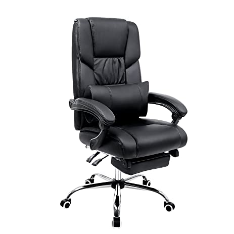 Amazon.com : SONGMICS Extra Large Office Chair High Back Executive ...