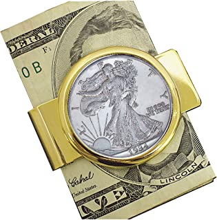 product image for American Coin Treasures Walking Liberty Silver Half Dollar Coin Money Clip