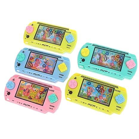 ZJL220 Kids Toy Consola de Agua Máquina de Juego para niños Juguetes intelectuales clásicos Regalos Color