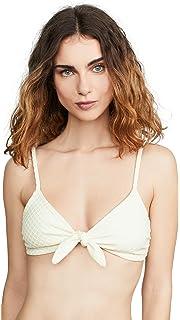 8d3488f2f6e77 Amazon.com  Mara Hoffman Women s Carla Tie Front Bikini Top Swimsuit ...