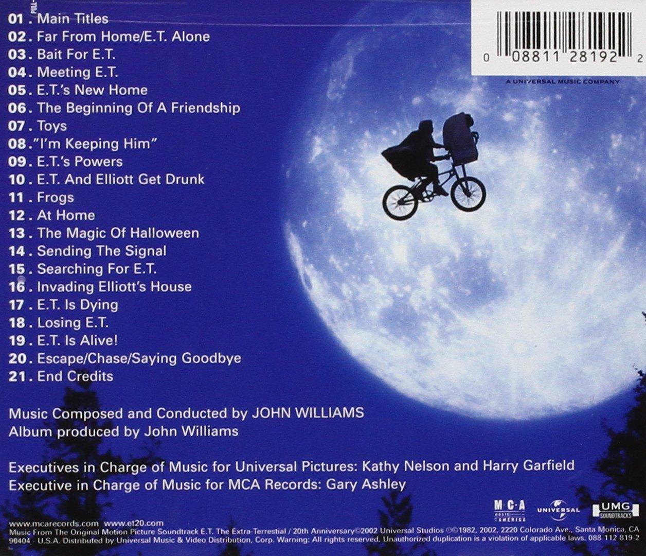 E.T.: The Extra-Terrestrial: Original Soundtrack: Amazon.es: Música