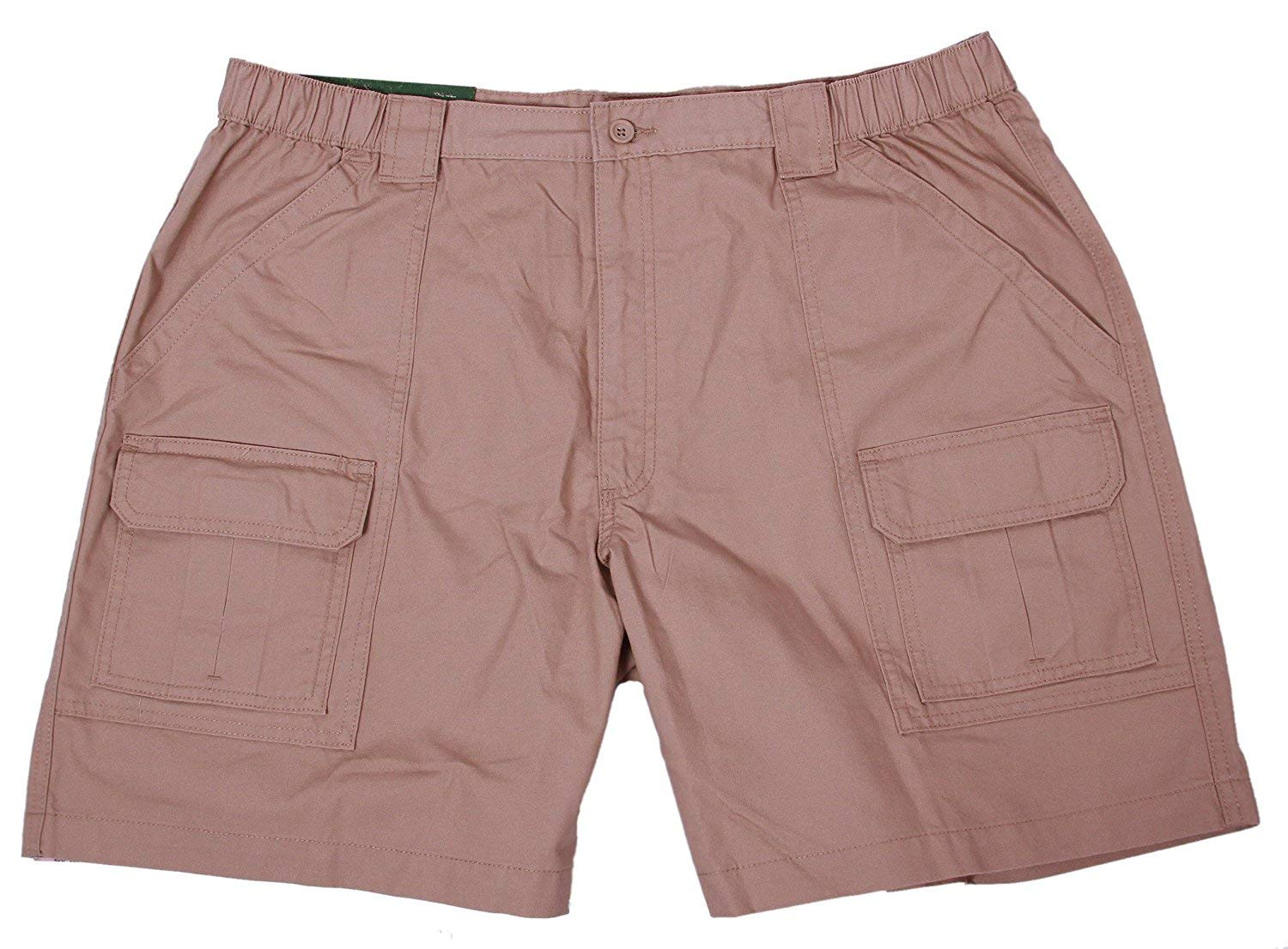 Savane Mens Comfort Hiking Cargo Shorts (32, Khaki 2), Khaki 2, Size 32 V4kp by Savane
