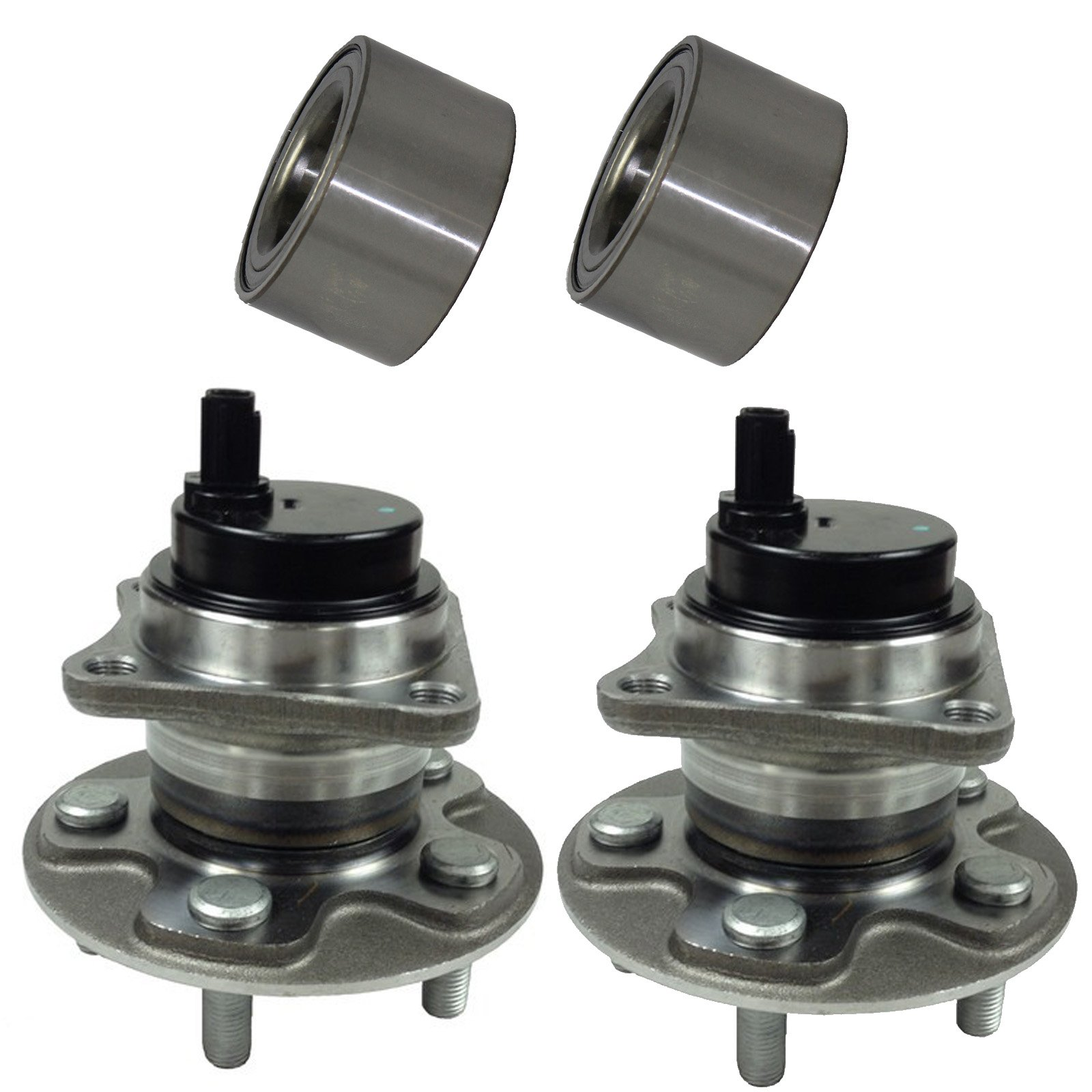 5 Lugs w//ABS 2009-2010 Ponitac Vibe FWD 1.8L 4Cyl L DRIVESTAR 512403 FWD Rear Wheel Hub /& Bearing Assembly for Toyota Corolla 2009-2016 2009-2014 for Toyota Matrix FWD 1.8L 5Cyl L