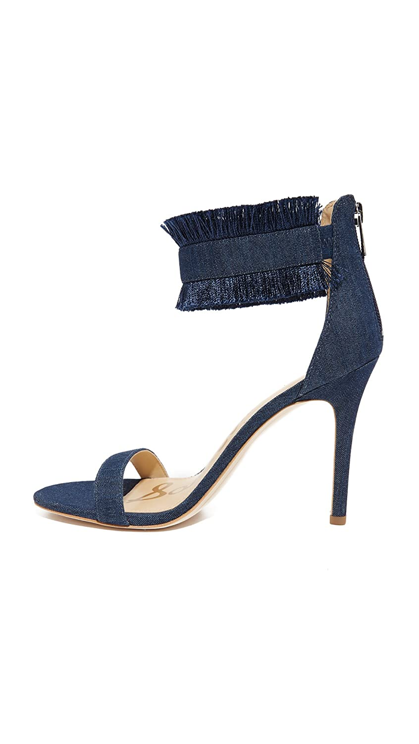 Sam Edelman Woman Anabeth Fringed Suede Sandals Size 8.5 8HsGc