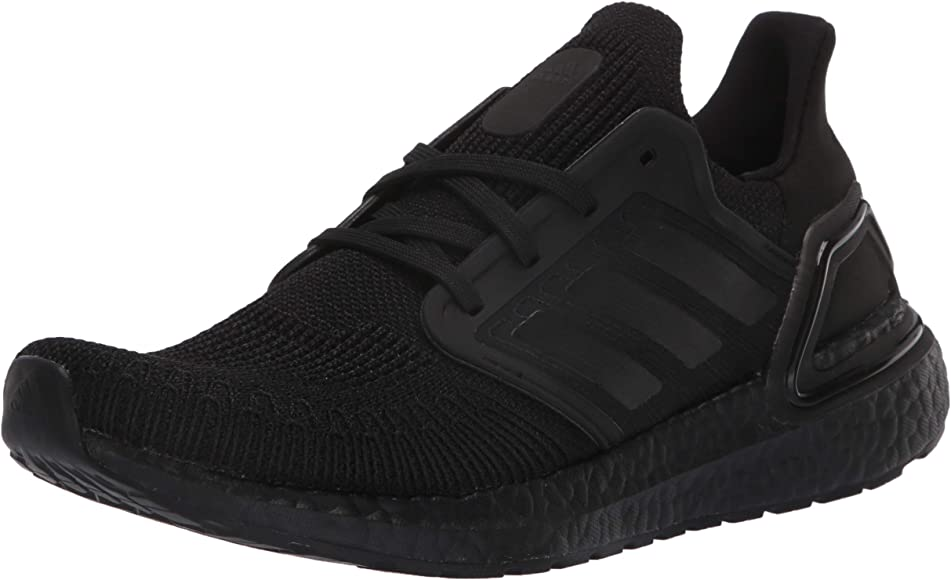 adidas running shoes black and white