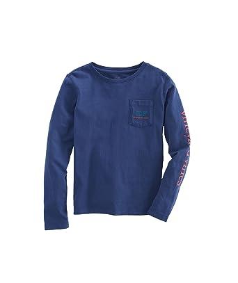 7580c139 Amazon.com: Vineyard Vines Girls Graphic T Shirt Vintage Whale Blue ...