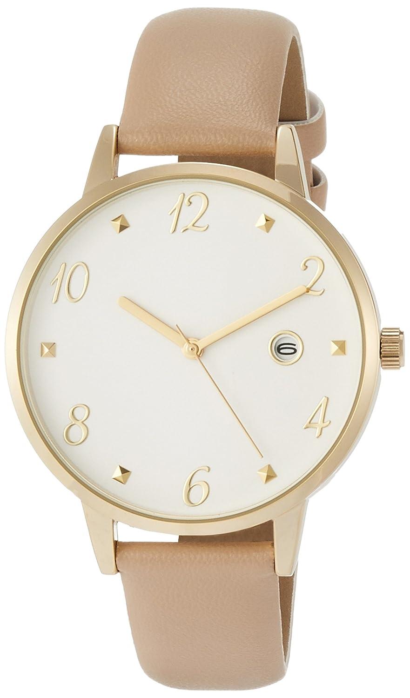 5400c6d1dd Amazon | [フィールドワーク]Fieldwork 腕時計 ファッションウォッチ ルクシャナ アナログ 日付付き 革ベルト キャメル  ST177-3 | 腕時計 | 腕時計 通販