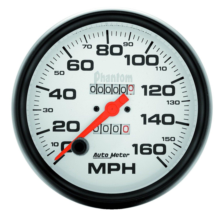 Auto Meter 5895 Phantom In-Dash Mechanical Speedometer