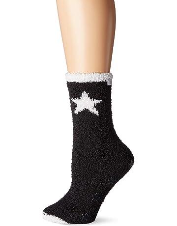 4042e1bb3e4362 Karen Neuburger Women s Super Soft Cozy Fluffy Warm Lounge Sock with  Grippers