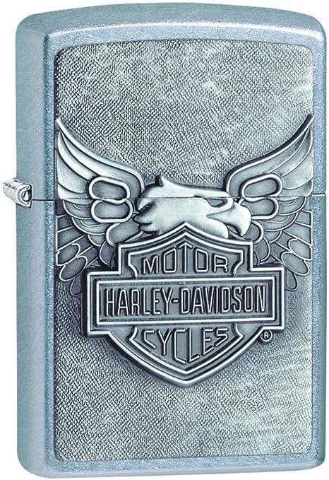 Zippo Harley-Davidson - Encendedor, color Cromo (Street Chrome), 1 unidad: Amazon.es: Deportes y aire libre