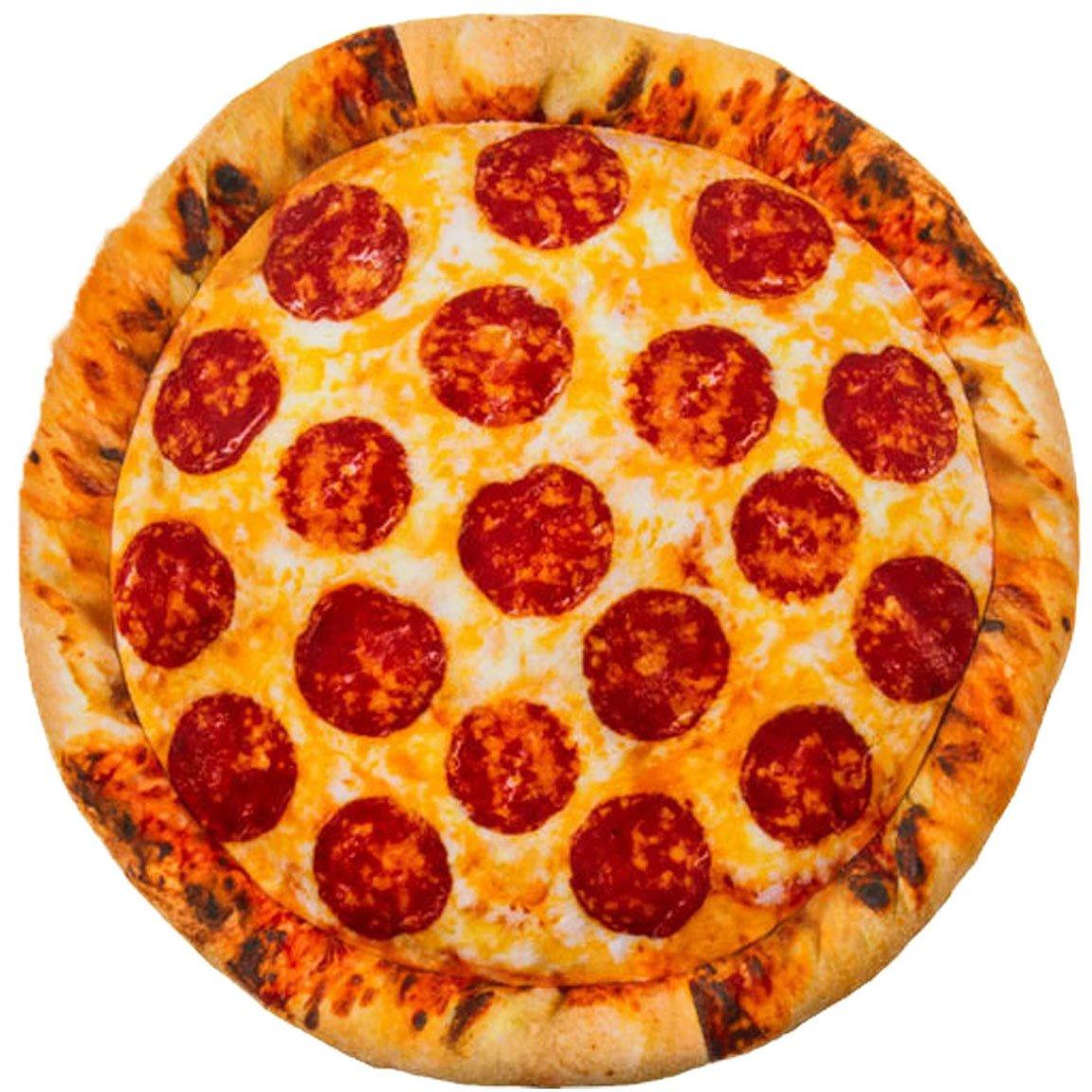 Bada Bing 1 Pizza Oreiller motif pizza salami
