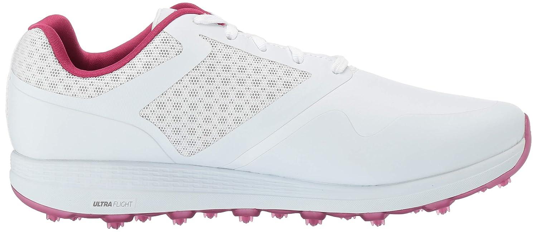 Skechers Damen Golf Shoe Max, Golfschuh Weiß / Violett