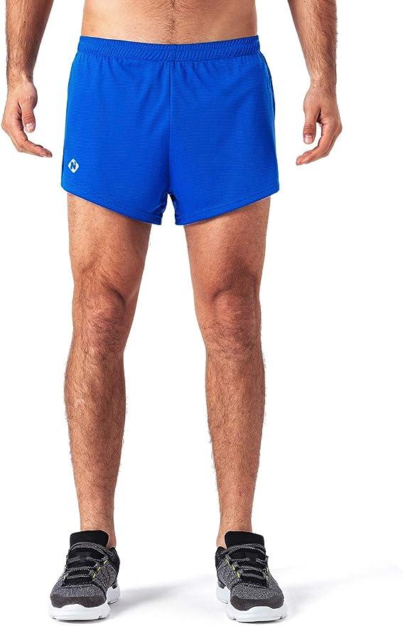 NAVISKIN Pantalones Cortos de Atletismo para Hombre Shorts Deportivos de Correr Fitness Secado Rápido Ligero Súper Transpirables Elásticos Elementos Reflectantes: Amazon.es: Deportes y aire libre