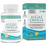 Nordic Naturals Algae Omega - Vegan Omega-3 Supplement for Eye Health, Heart Health, and Optimal Wellness*, 60 Count