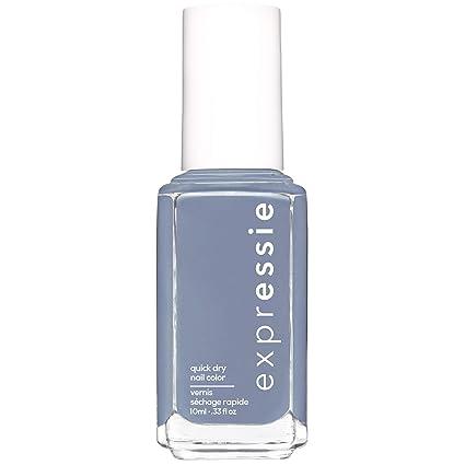 Essie Expressie Quick Dry Nail Polish Slate Blue Nail Polish Air Dry 0 33 Fl Oz