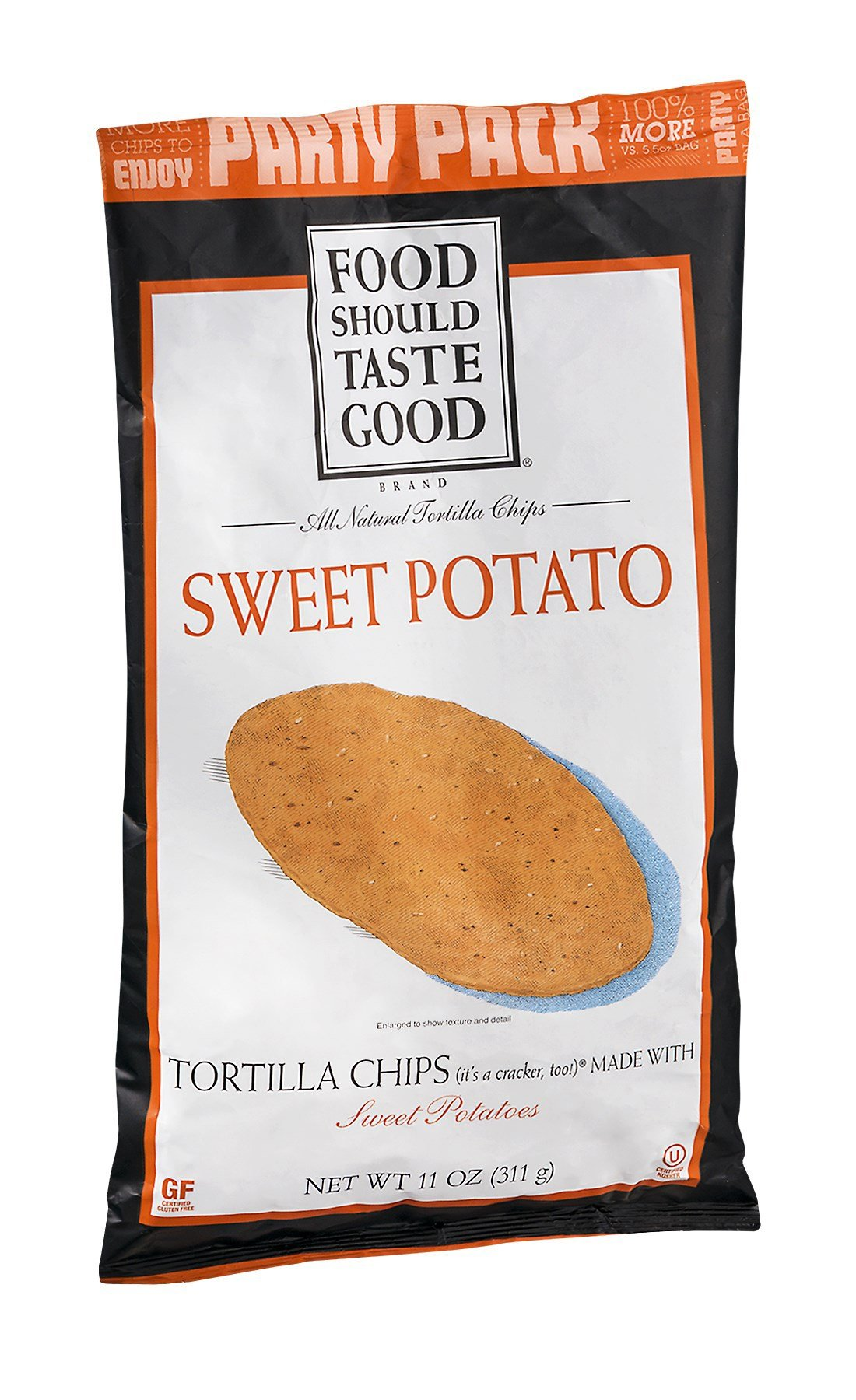 FOOD SHOULD TASTE GOOD CHIP TORTLA SWT PTO, 11