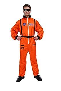 Amazon.com: Mens White Astronaut Costume - ST: Clothing