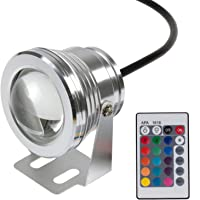 Winbang Luz subacuática, IP65 10W RGB LED Fuente