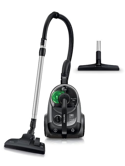 Philips Aspirador sin Bolsa FC8769/01 FC8769/01-Aspirador tecnología PowerCyclone 5, 650 W, 2 litros, 78 Decibelios, Negro