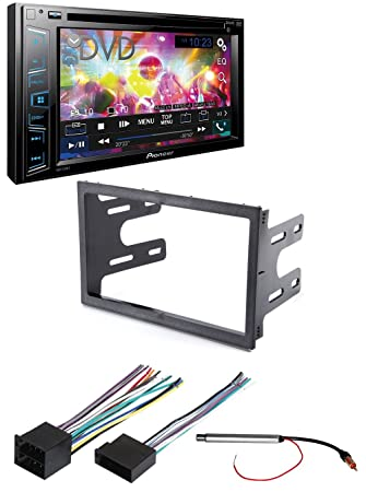 Amazon pioneer avh 290bt double din bluetooth car dash pioneer avh 290bt double din bluetooth car dash installation mounting kit wiring harness radio greentooth Choice Image