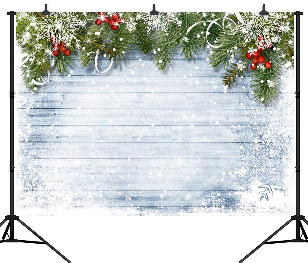 DePhoto 8X8FT(240X240CM) メリークリスマスパーティーテーマ カスタマイズシームレスビニール写真背景 写真背景 スタジオ小道具 PGT171 7X5FT(210X150CM) PGT290 B07K2PVZ5D