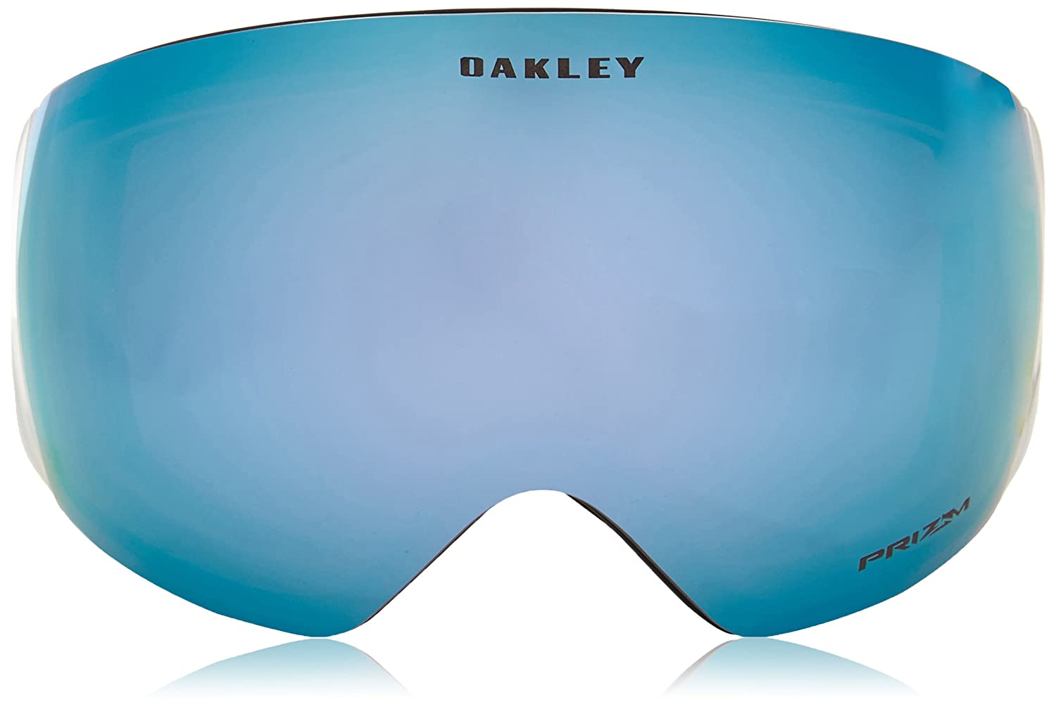 a6b00e04953 Amazon.com  Oakley Flight Deck Mens Snow Snowmobile Goggles Eyewear - Matte  Black Prizm Sapphire One Size Fits All  Clothing