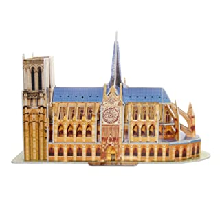 3D Puzzle of The The Spasskaya Tower CubicFun S3035h 29 Pieces S Series 3D Puzzle Place