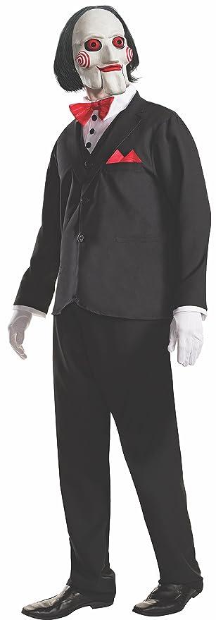 Rubies s – Disfraz de oficial adultos Jigsaw película de terror Saw Puppet Billy –