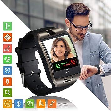 Reloj Iinteligente Mujer Hombre, Smartwatch con Ranura para Tarjeta SIM Pulsera Actividad Sincronizar Llamadas y Notificaciones para Xiaomi Huawei ...