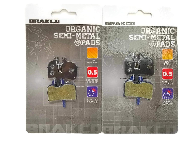 Promax HFX-MAG BRAKCO Organic Disc Brake Pads HAYES HFX 9