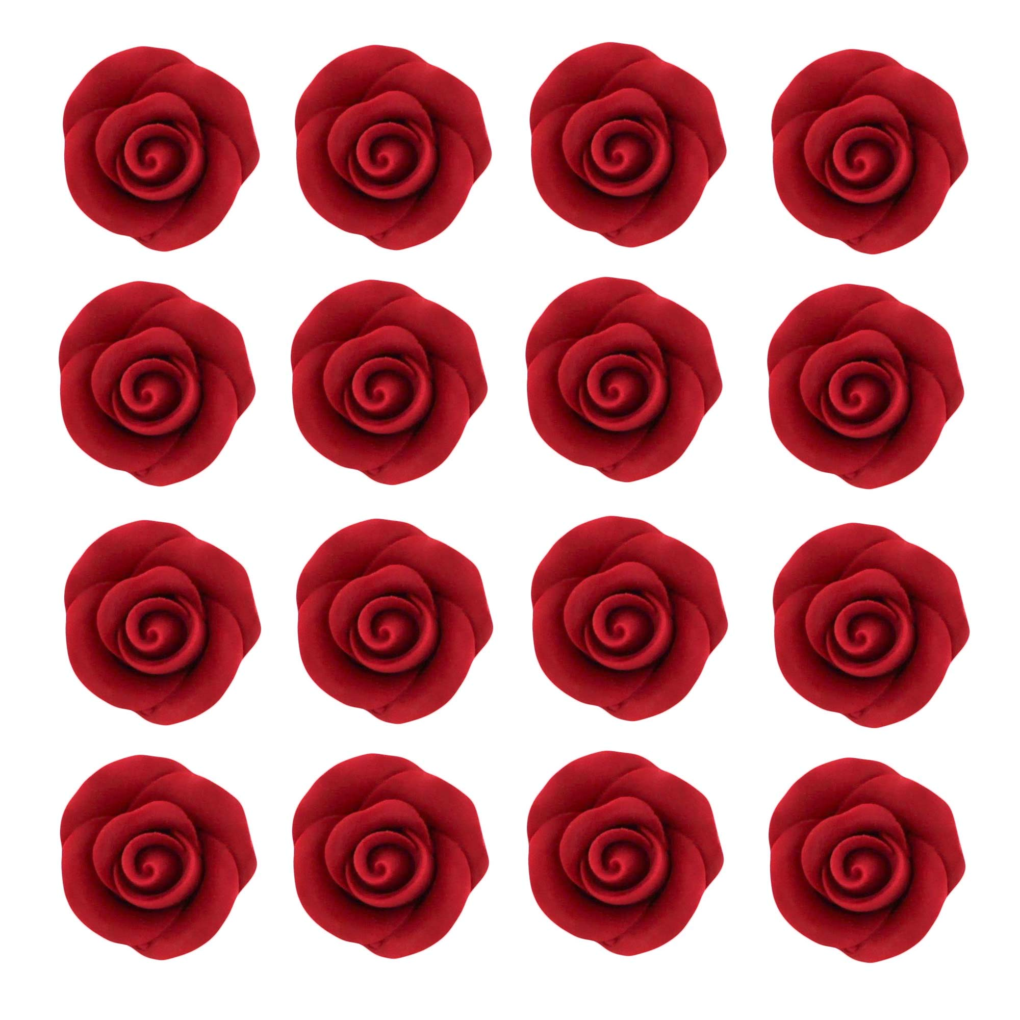 Rose Premium Candy Red, Unwired, Small 32 Count by Chef Alan Select