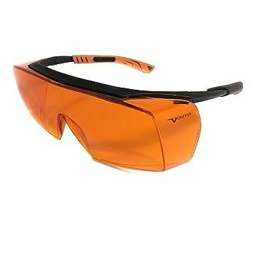 Óculos PROTEÇÃO Laranja Bloqueador De Luz Azul - Escuridão Virtual BLUE  CONTROL d359c0380e