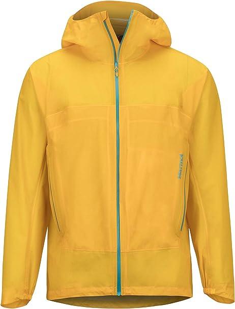 Transpirable Hombre Resistente Al Viento Marmot Minimalist Component Jacket Impermeable R/ígido Resistente Al Agua Chubasquero