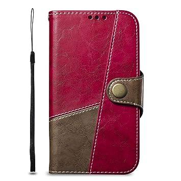 DENDICO Funda Xiaomi Redmi Note 4, Carcasa Libro de Cuero ...