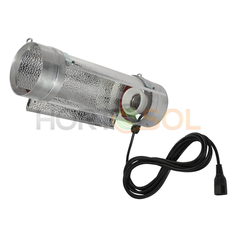 HORTOSOL Cooltube ré flecteur 125mm x 400mm pour Ampoule E40 HPS MH
