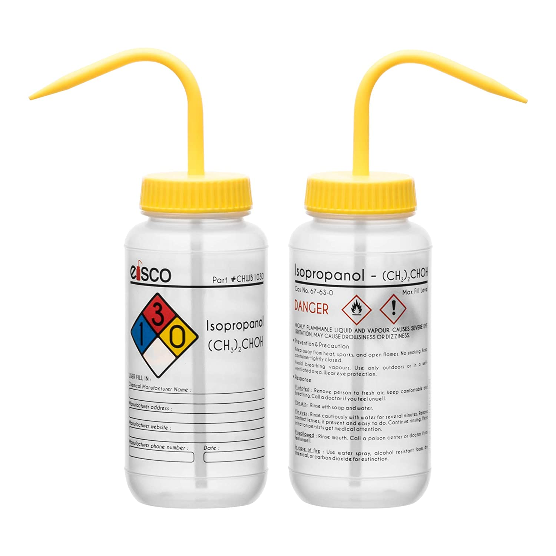 SEOH Wash Bottle 1000ml Polyethylene Leak Proof