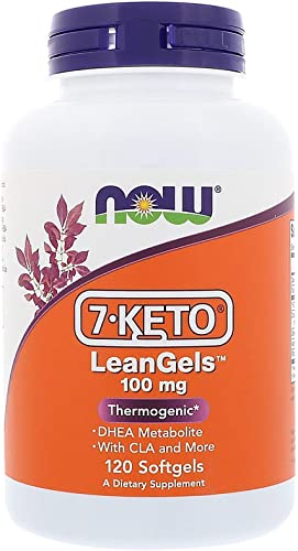 NOW NOW 7-Keto LeanGels, 120 Softgels